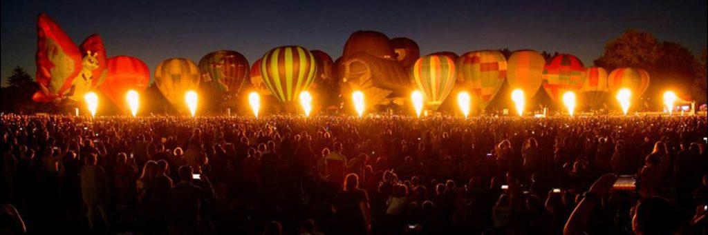 Balloons over Waikato Nieuw Zeeland