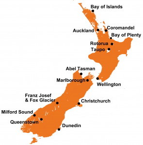 Destinations New Zealand