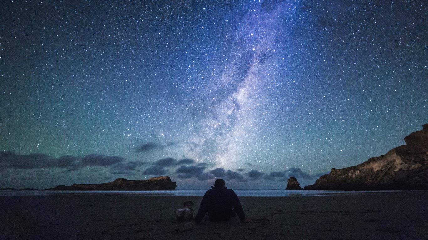 Sterren kijken Nieuw Zeeland