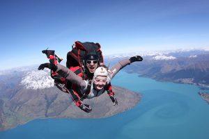 Skydiven Queenstown Nieuw Zeeland