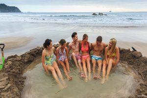Hot water beach, Nieuw Zeeland