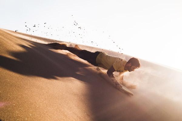 Sandboarding Northlands Nieuw Zeeland