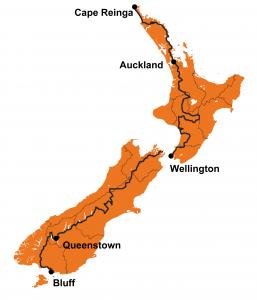 Te Araroa New Zealand